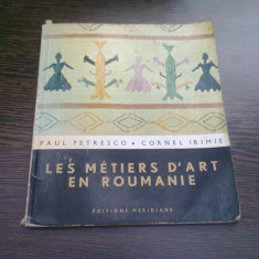 LES METIERS D'ART EN ROUMANIE - PAUL PETRESCO