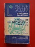 EXERCITII DE GRAMATICA ENGLEZA × Georgiana Galateanu