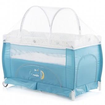 Patut pliabil Copii Chipolino Bella aqua