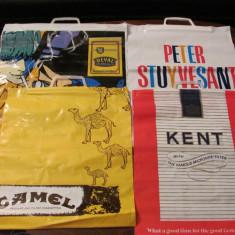 GE Lot 4 sacose diferite impecabile perioada comunista COMTURIST reclama tigari