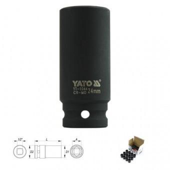 "Cheie tubulara hexagonala de impact adanca 1/2 24mm, Yato YT-1044"""