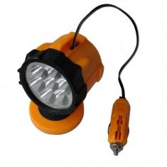 Lampa lucru LED cu magnet, 12V