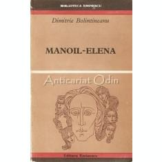 Manoil-Elena - Dimitrie Bolintineanu