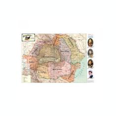 Harta Romaniei pe regiuni 1919-1940