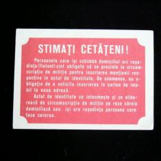 CCO - CALENDARE FOARTE VECHI - ANUL 1978 - NR 1
