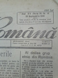 Ziarul Natiunea romana 22 septembrie 1946