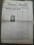 Ziarul Natiunea romana 18 mai 1946