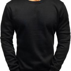 Bluză fără glugă pentru bărbați neagră Bolf 2001