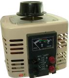 Autotransformator monofazic, 220V - 0...250V - 1.000W , 1 KW voltmetru analogic