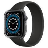 Cumpara ieftin Husa Spigen Thin Fit pentru Apple Watch Seriile 6/5/4/SE (44mm), Ultra Subtire, Transparent