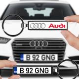 Cumpara ieftin Breloc numar auto Audi