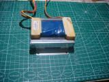 Transformator de retea 230v - 35,5V format plat