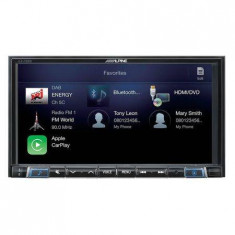 Sistem ALPINE ILX-702D Multimedia 2 DIN Apple CarPla Compatibilitate Android Auto Bluetooth Ecran 7inch