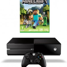Consola Xbox One 500 GB + joc Minecraft
