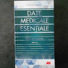 MARC S. SABATINE - DATE MEDICALE ESENTIALE. GHID DE BUZUNAR