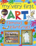 """Carte """"My very first art famous paintings"""" Usborne"""