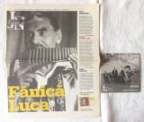 """FANICA LUCA"", CD + ziar JURNALUL NATIONAL, 2007"
