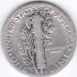 Moneda Statele Unite ale Americii 10 Centi 1927 - KM#140 VF ( argint 0,900 )