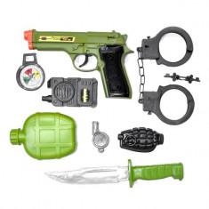 Set de jucarie pentru copii, model 8 bucati cu arme de lupta, 30x3x44 cm