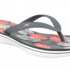 Papuci flip-flop Skechers H2 Goga 14680-CCCL pentru Femei