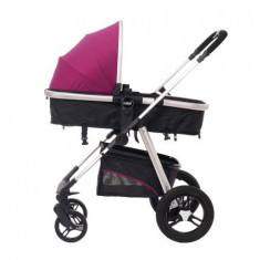Carucior 2 in 1 U-Grow Baby Joy, reversibil, Violet