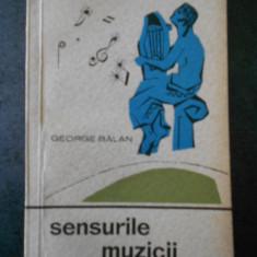 GEORGE BALAN - SENSURILE MUZICII