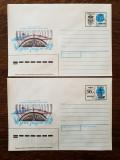 Set 2 plicuri timbru fix Moldova - Ziua Radioului 30 Ruble 1994