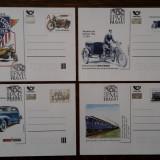 4 carti postale Cehia 2012-2015 necirculate, Necirculata, Printata