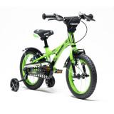 Bicicleta copii Kawasaki NINJA 14 green by Merida Italy for Your BabyKids