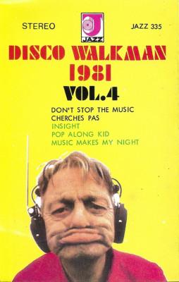 Caseta Disco Walkman 1981 Vol.4 ,  originala foto