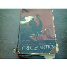 LEGENDELE SI MITURILE GRECIEI ANTICE - N.A. KUN
