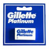Rezervă de Lame de Ras Platinum Gillette (5 uds)