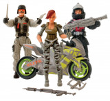 Set figurine actiune cu motor The Corps The Collection