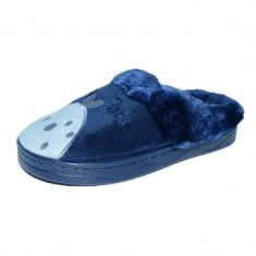 Papuci de casa pentru baieti Haotai 32889-B, Bleumarin
