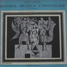 Istoria muzicii universale in exemple. Discul nr. 18 (Vinil)