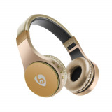 OVLENG S55 Bluetooth Wireless Headset Gold