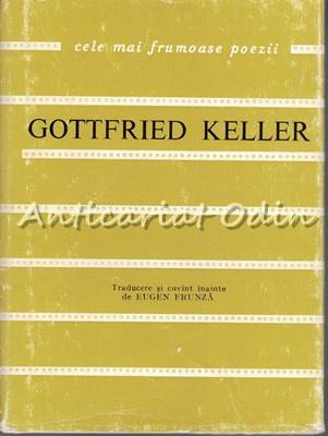Poezii - Gottfried Keller - Tiraj: 2190 Exemplare foto