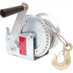 Scripete cu stand si manivela pentru 500 kg Gadget DiY