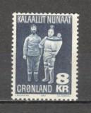 Groenlanda.1980 Arta populara  MG.4, Nestampilat