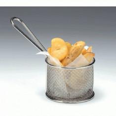 Cosulet rotund servire pentru cartofi prajiti, snacks, 0136471, 9x7.5cm