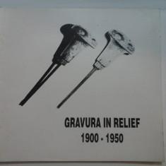 GRAVURA IN RELIEF ARTISTI DIN ROMANIA 1900-1950