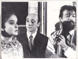 Bnk foto - Un film cu o fata fermecatoare - fotografie de panou 24x18 cm, Alb-Negru, Romania de la 1950