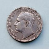 BULGARIA - 2 Leva 1891 - Ferdinand I - Argint 10 g, Europa