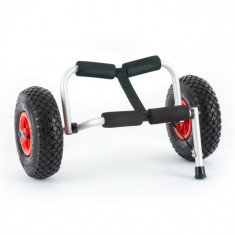 DURAMAXX SEA MULE SL, cărucior de caiac, suport, aluminiu, eloxat, pliabil foto