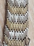 Bratara, argint masiv 835 Germania manufactura - argint placat cu aur, Femei