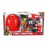 Set accesorii pompier Rescue Heroes, 8 piese