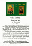 CARTI VECHI: CARTI RARE. Contributii la Bibliologia romanească, Oradea, 2017
