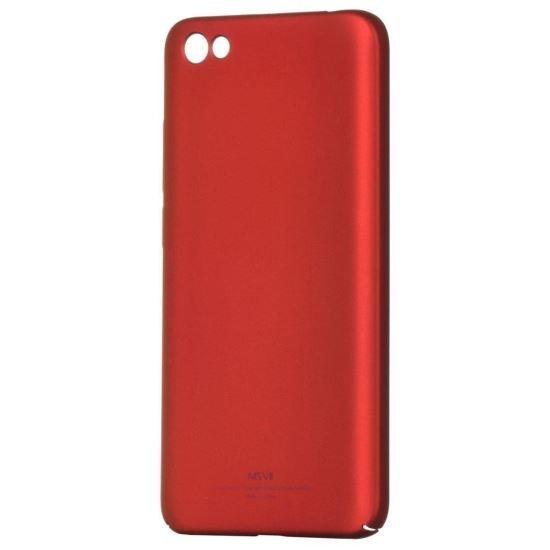 Husa MSVII Rosie Folie Protectie Sticla Pentru Xiaomi Redmi Note 5ARedmi Y1