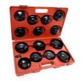 Trusa chei filtru de ulei 15 piese - KD10500 - KRAFTPROFESIONAL