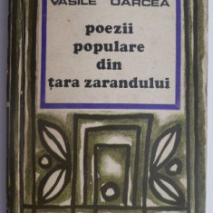 Poezii populare din Tara Zarandului – Vasile Oarcea